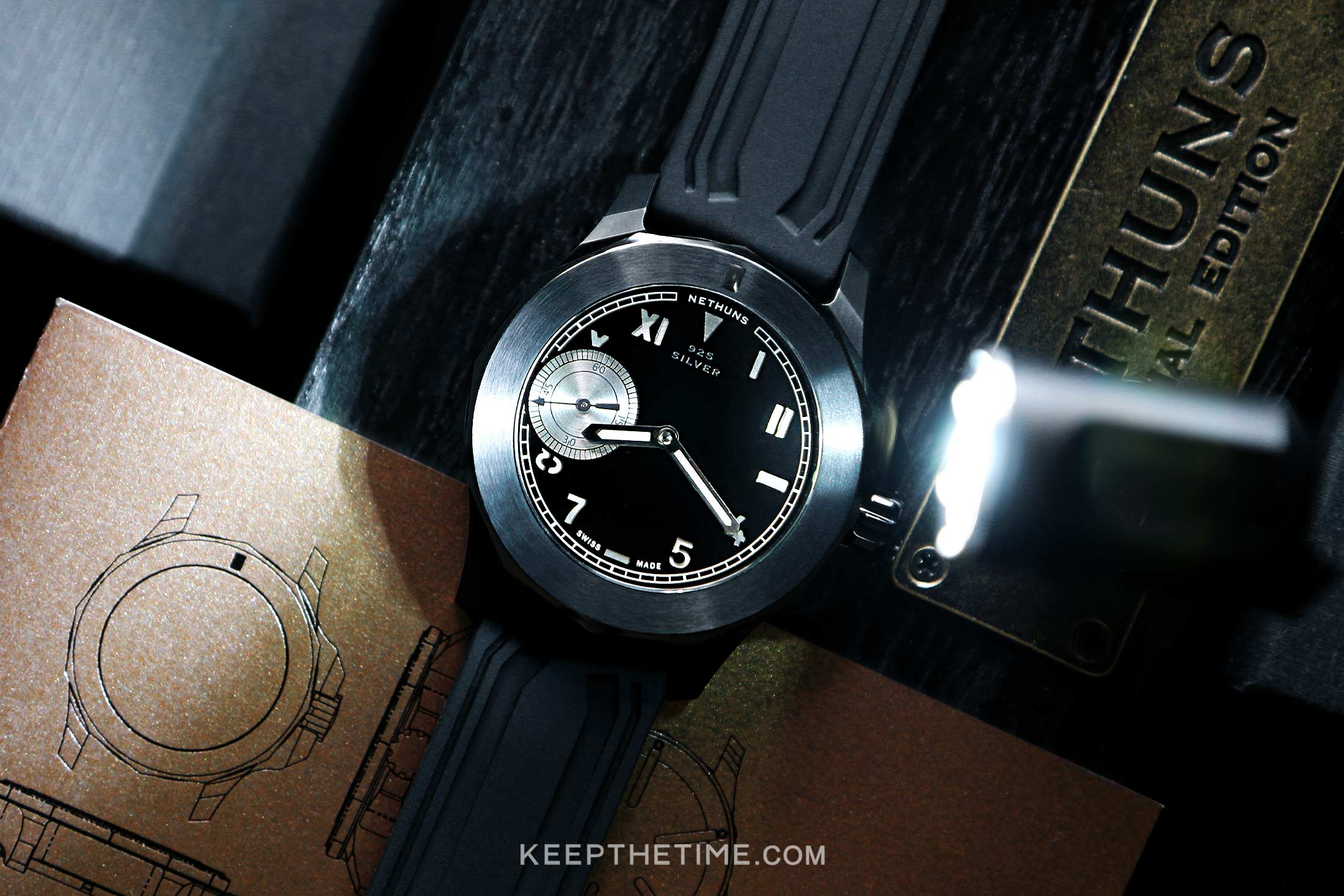 Nethuns No 7 Special Edition 925 Silver Watch 10