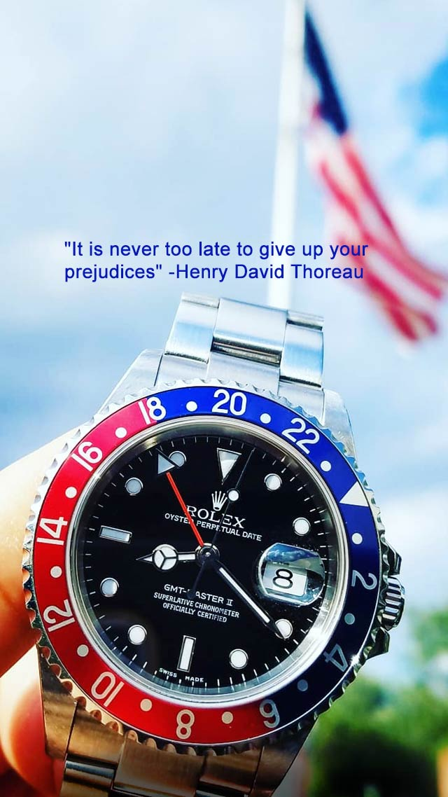 Rolex Gmt Master American Flag Mobile