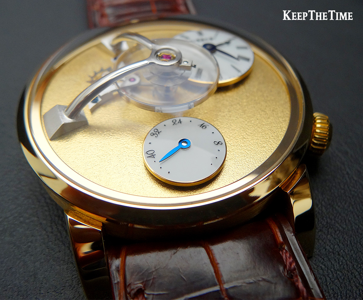 Mbandf Lm101 Frost Gold Watch 1