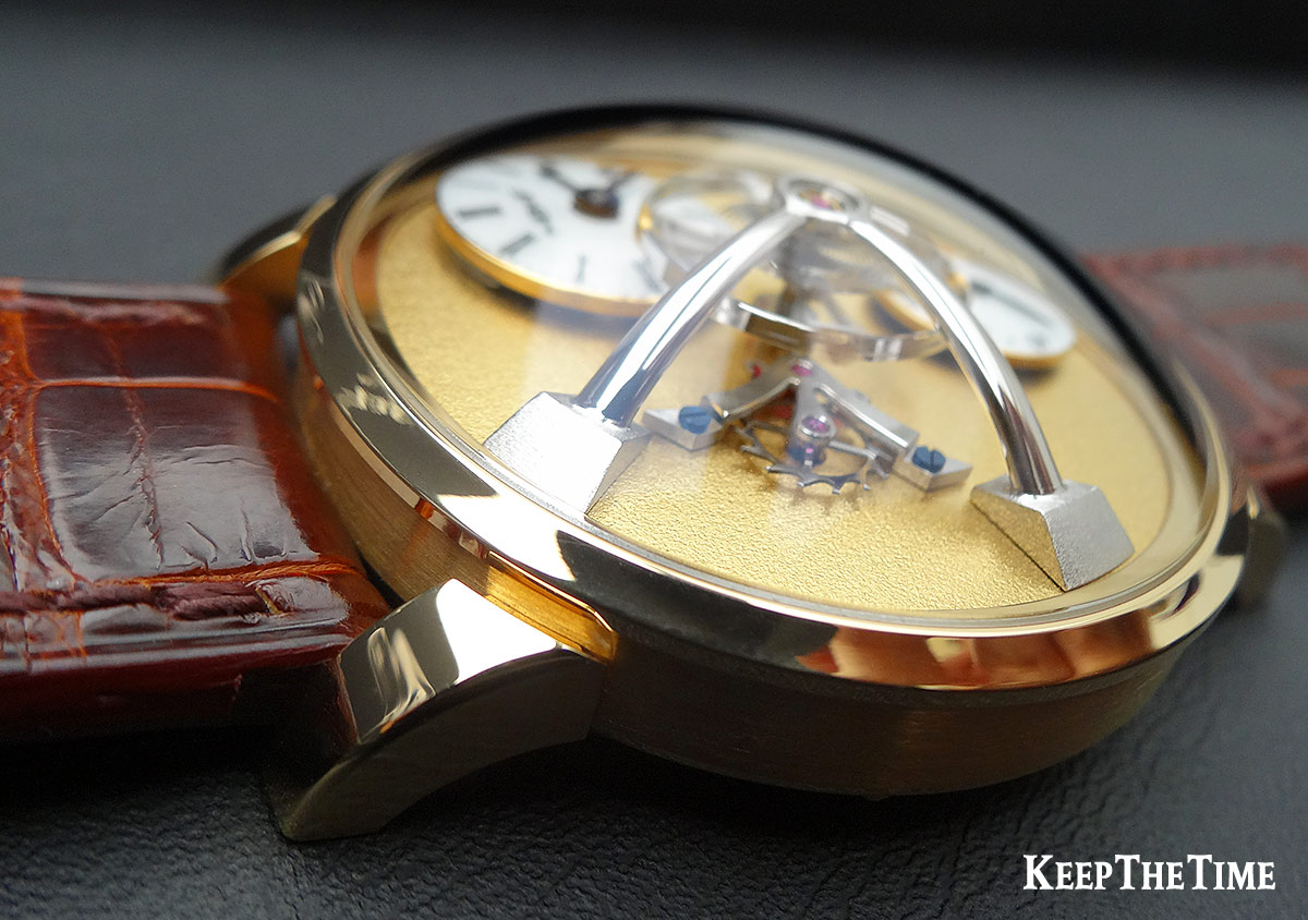 Mbandf Lm101 Frost Gold Watch 2