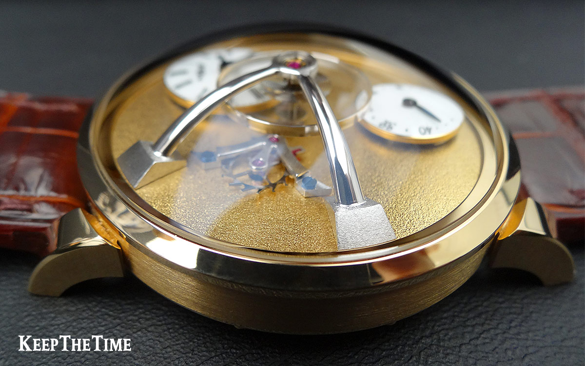 Mbandf Lm101 Frost Gold Watch 3