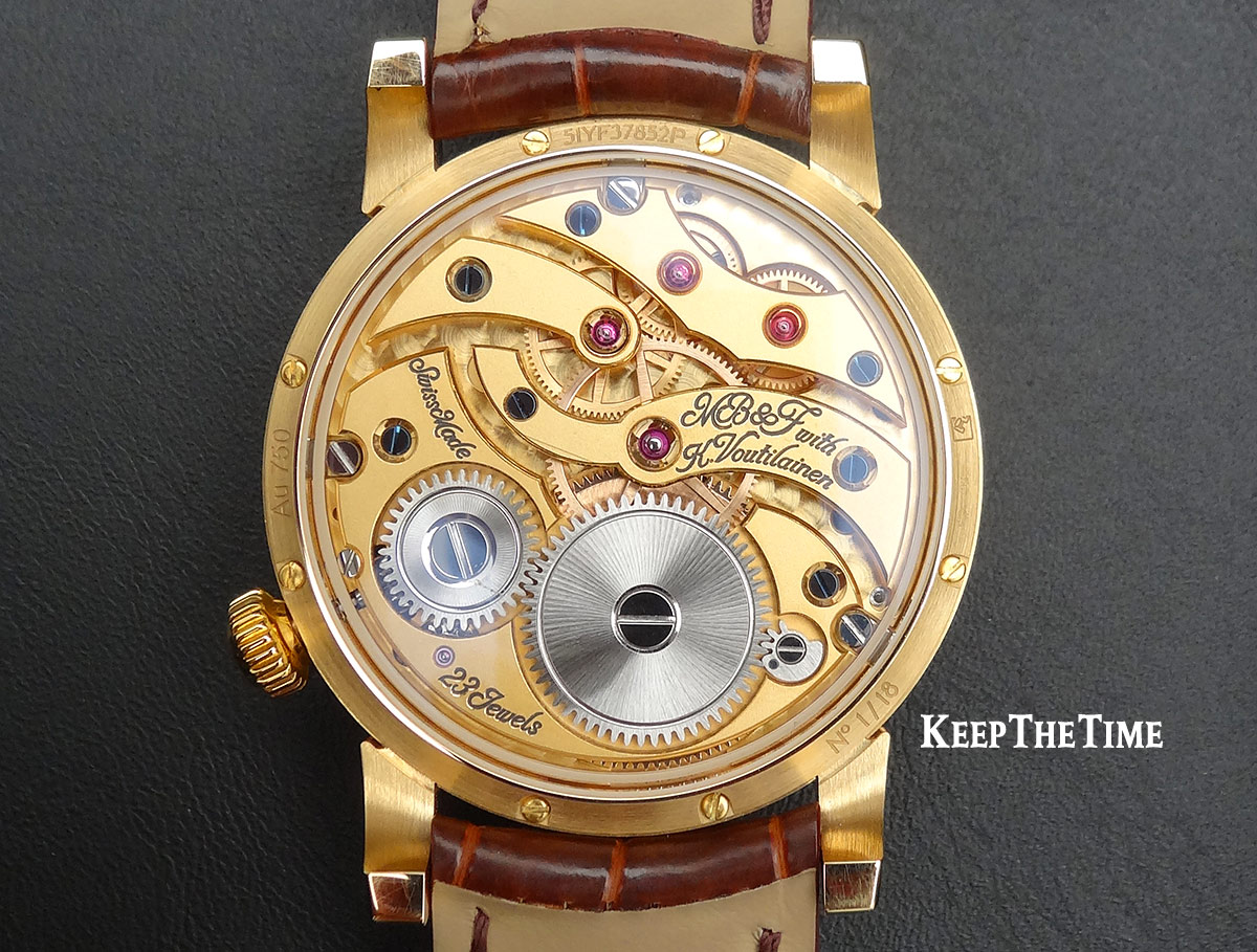 Mbandf Lm101 Frost Gold Watch Movement
