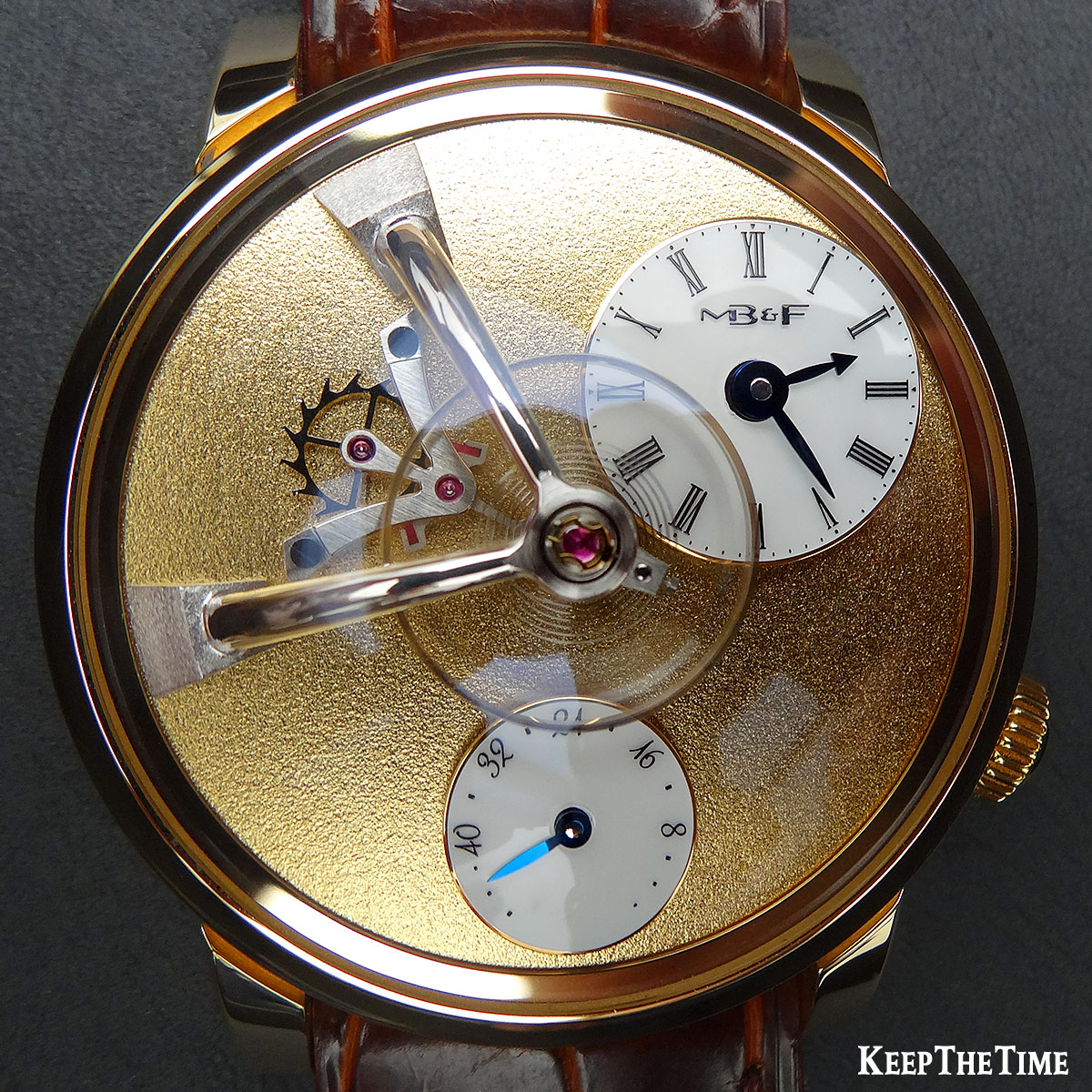 Mbandf Lm101 Frost Gold Watch