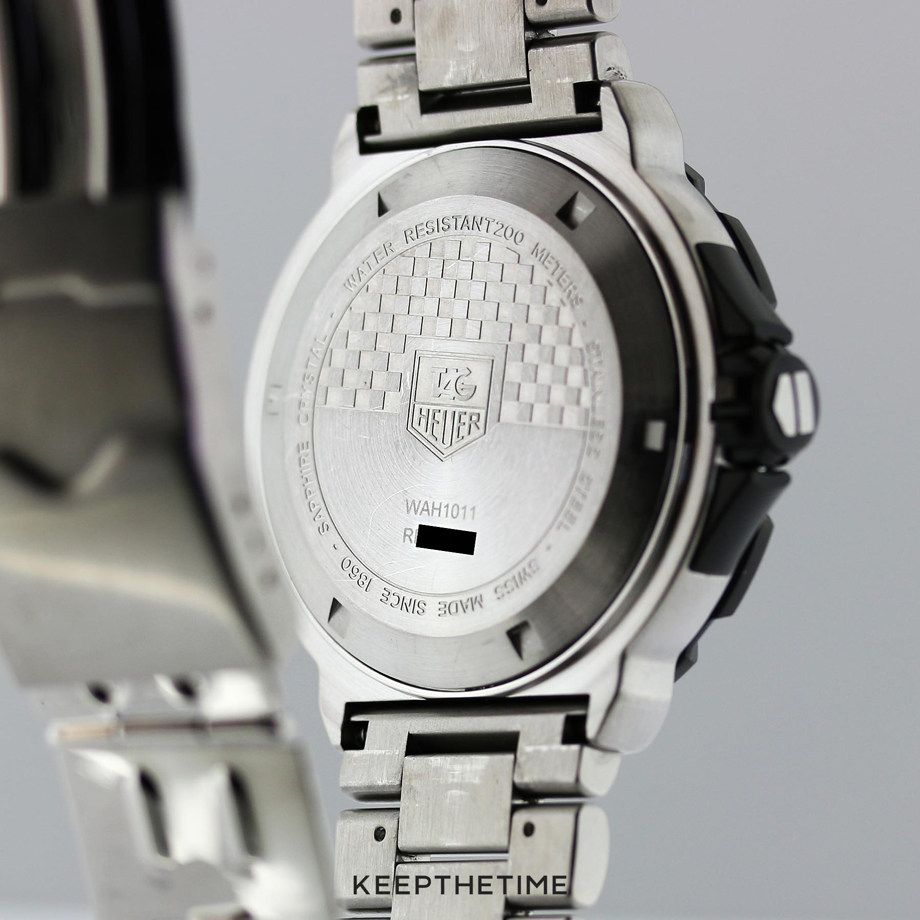 Tag Heuer F1 Grande Date Lume Dial Sport Watch with Big Date