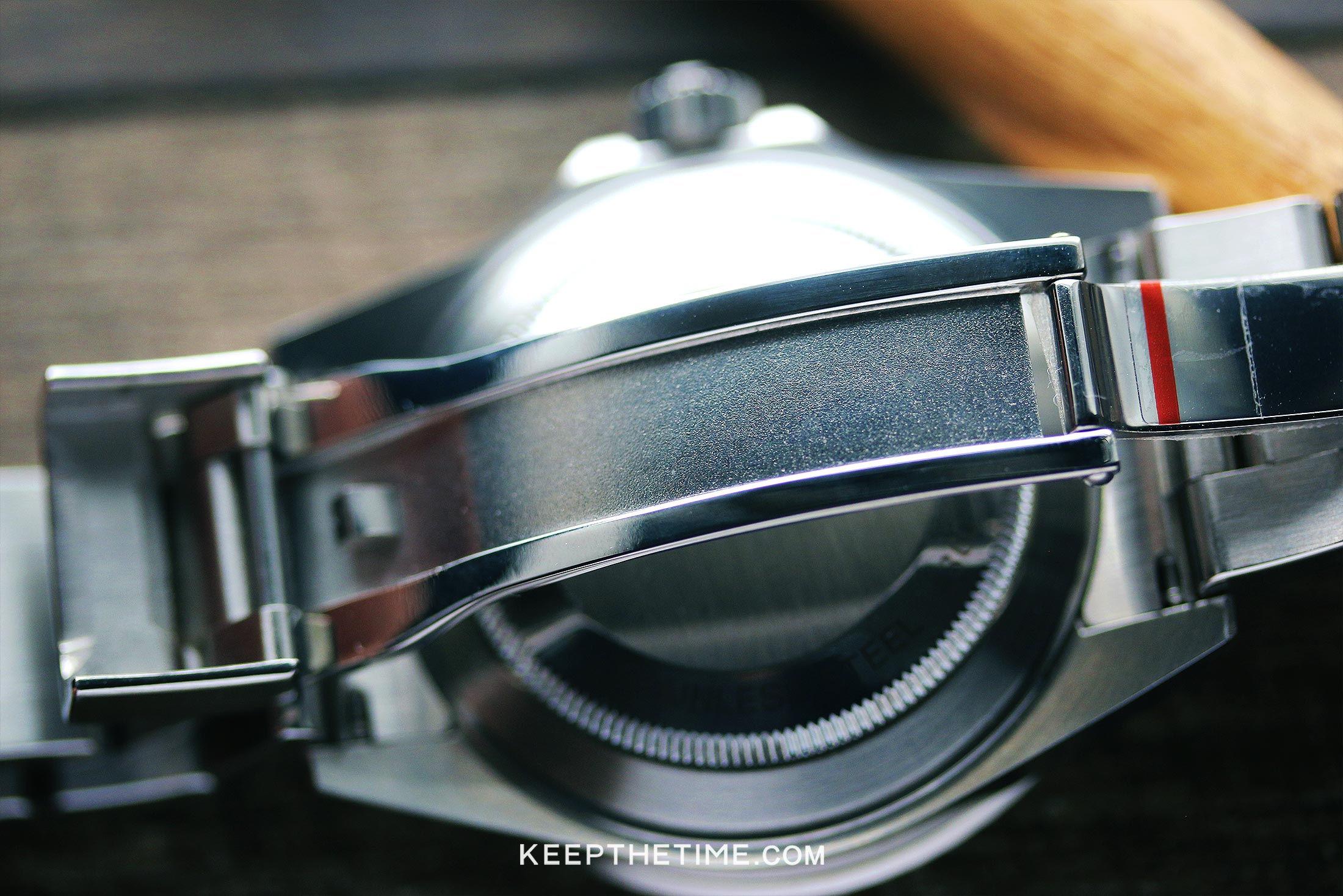 Ginault Watch Review Ocean Rover Clasp Inner