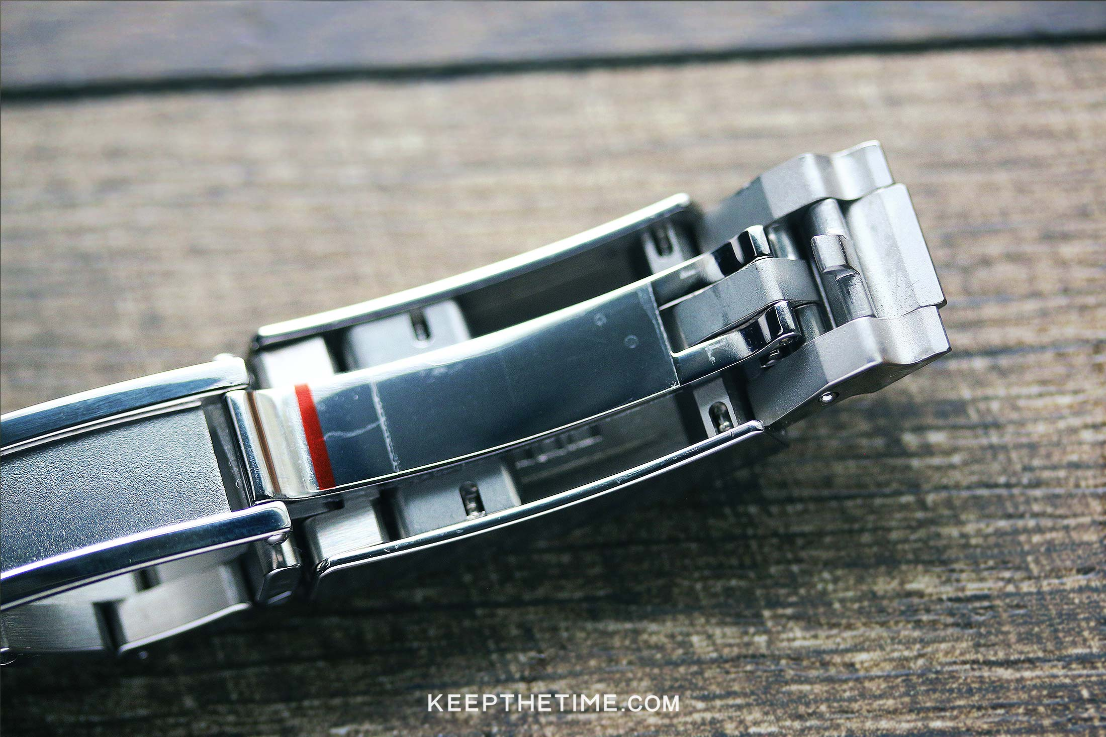 Ginault Watch Review Ocean Rover Clasp Open