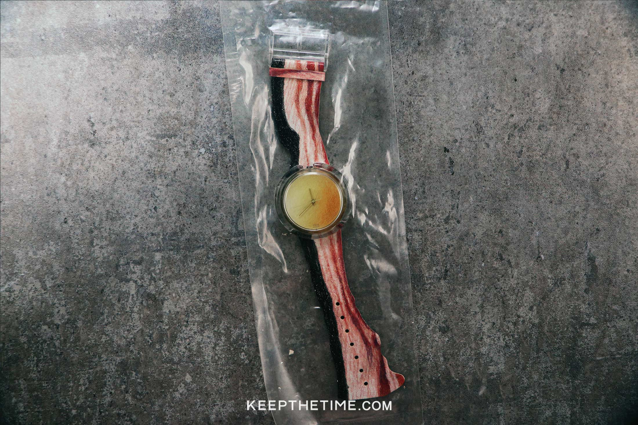 Swatch 1991 Vintage Bacon And Egg