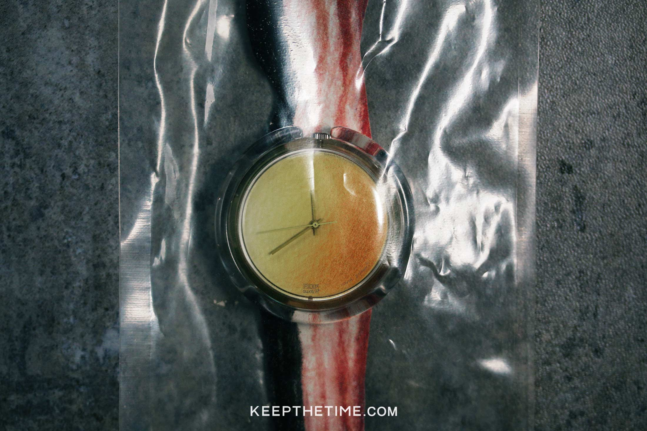 Swatch 1991 Vintage Bacon And Eggs