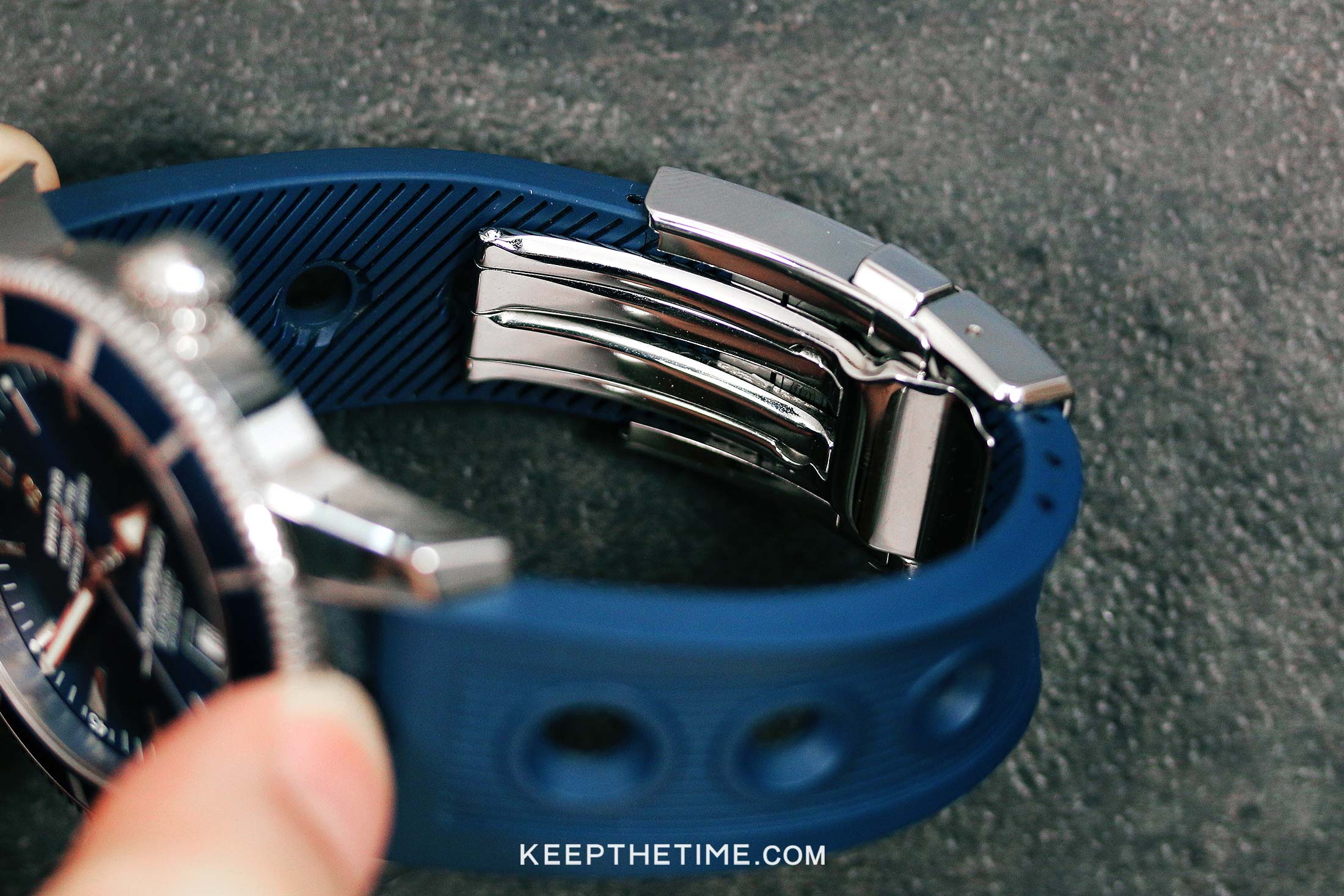 Breitling Clasp Rubber Strap