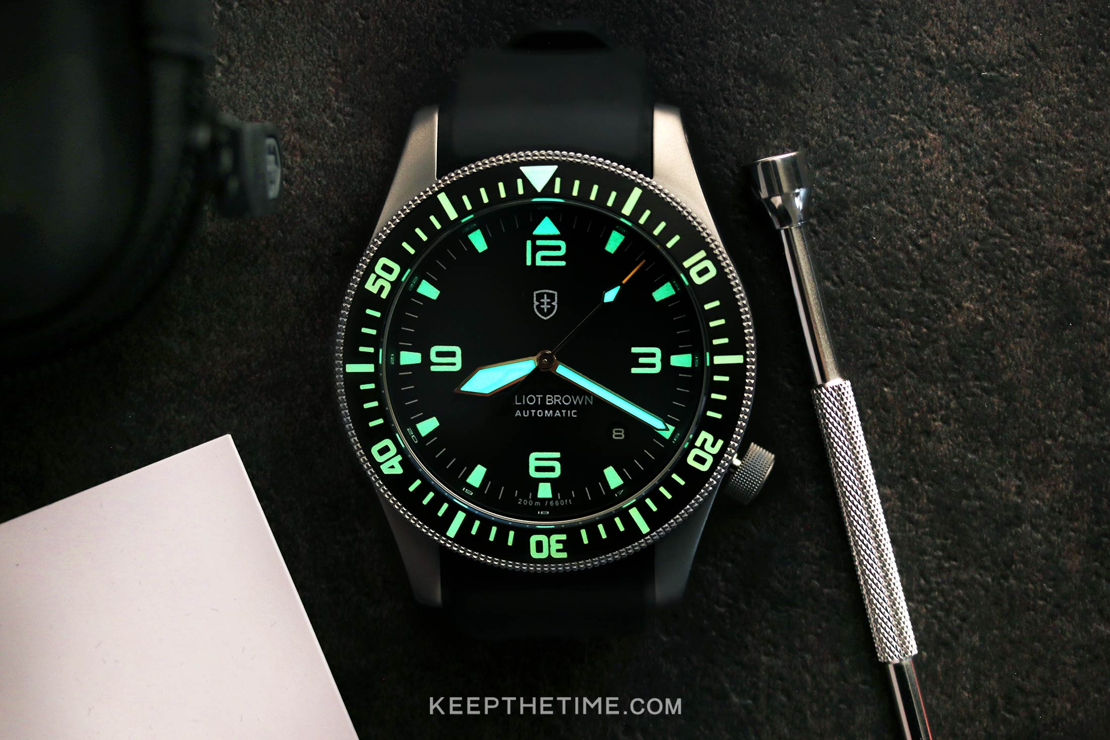 Elliot Brown Holton Automatic
