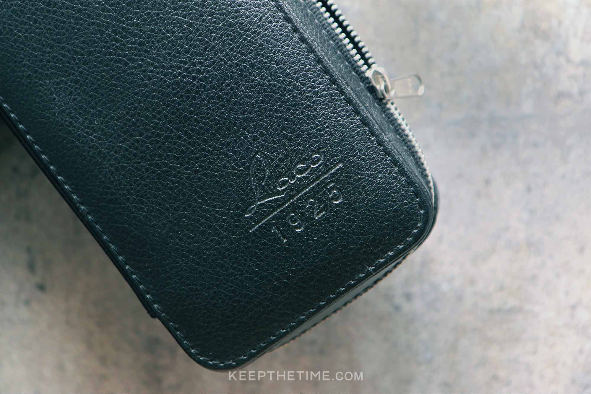 Laco Leather Watch Case