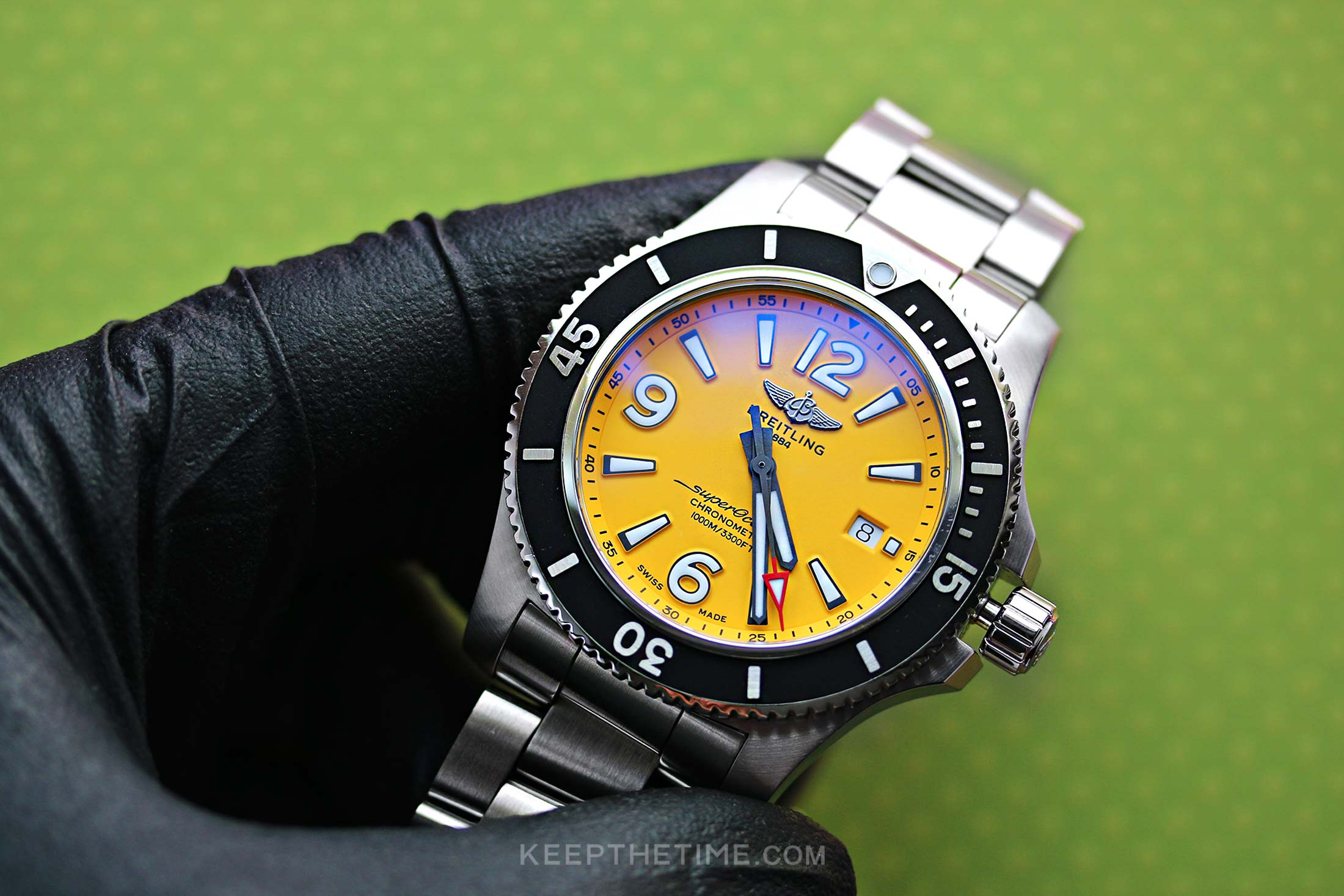 Breitling Yellow SuperOcean Automatic 44